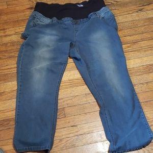 3X Maternity Jeans
